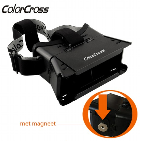 ColorCross Virtual Reality 3D Bril inclusief Magneet