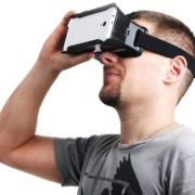 ColorCross Virtual Reality 3D Bril voor 4-6%22 Smartphones - 2